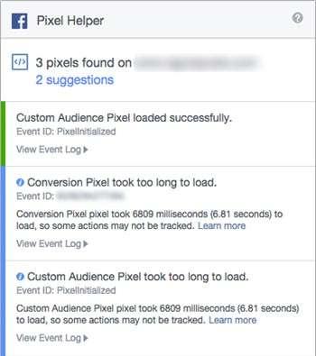 Pixel Helper Facebook — Strumento per controllare i pixel Facebook