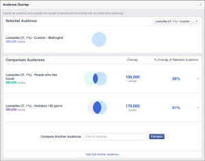 Facebook Audience Overlap