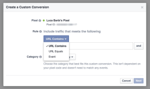 facebook-conversioni-personalizzate-custom-conversion