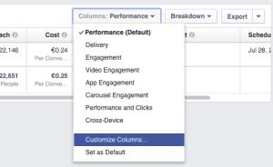 facebook-conversioni-personalizzate-personalizza-colonne