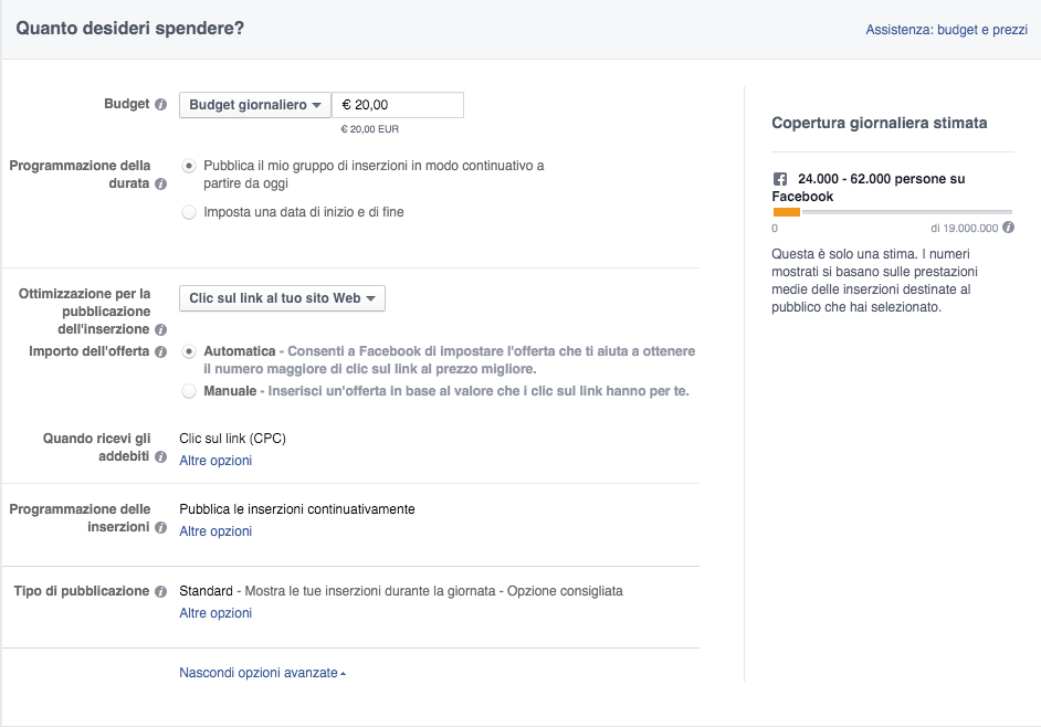facebook-ads-gestione-spese