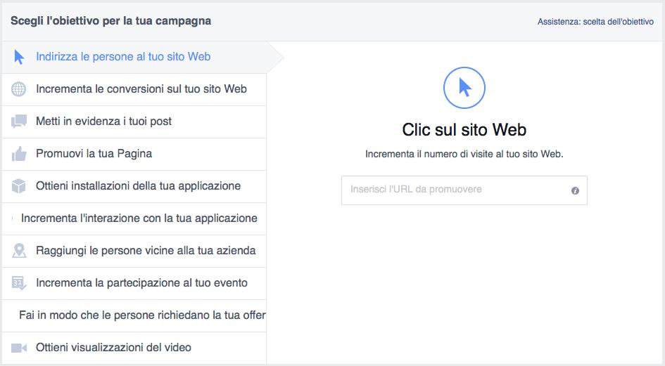 facebook-ads-obiettivo-indirizza-le-persone-sul-tuo-sito-web