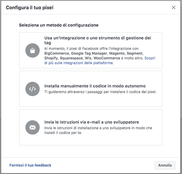 facebook-pixel-installazione