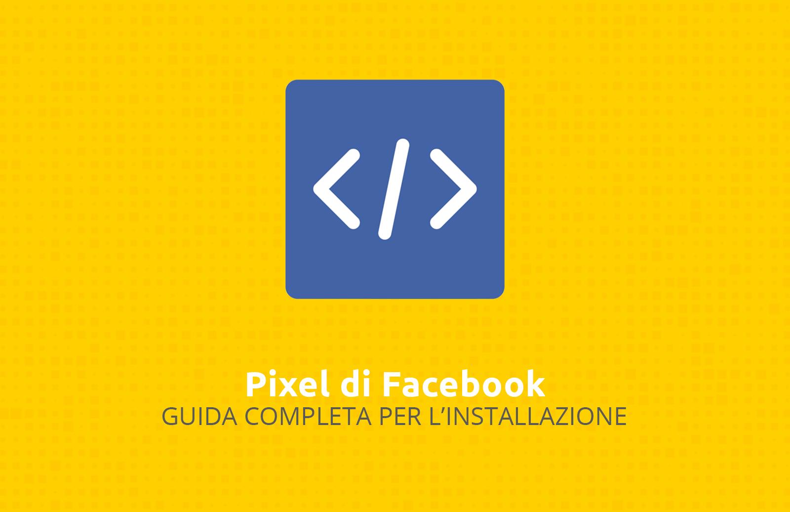 coine come installare il pixel di facebook